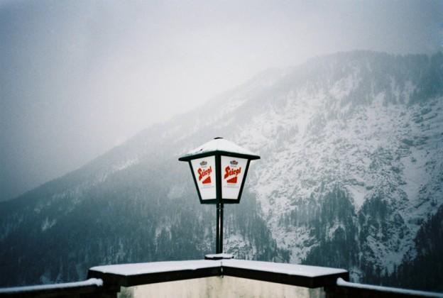 Farbfilm im Winter